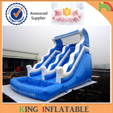 Inflatable Water Slide Park High Quality China Inflatable Slide with Water Pool For Kids Fun