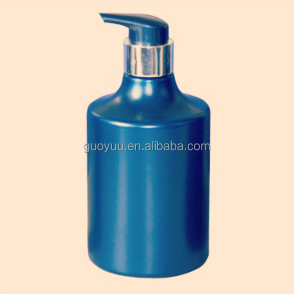 Refined 450ml Plastic Bottle Design for Shampoos/Head Conditioners/Balms or Creams