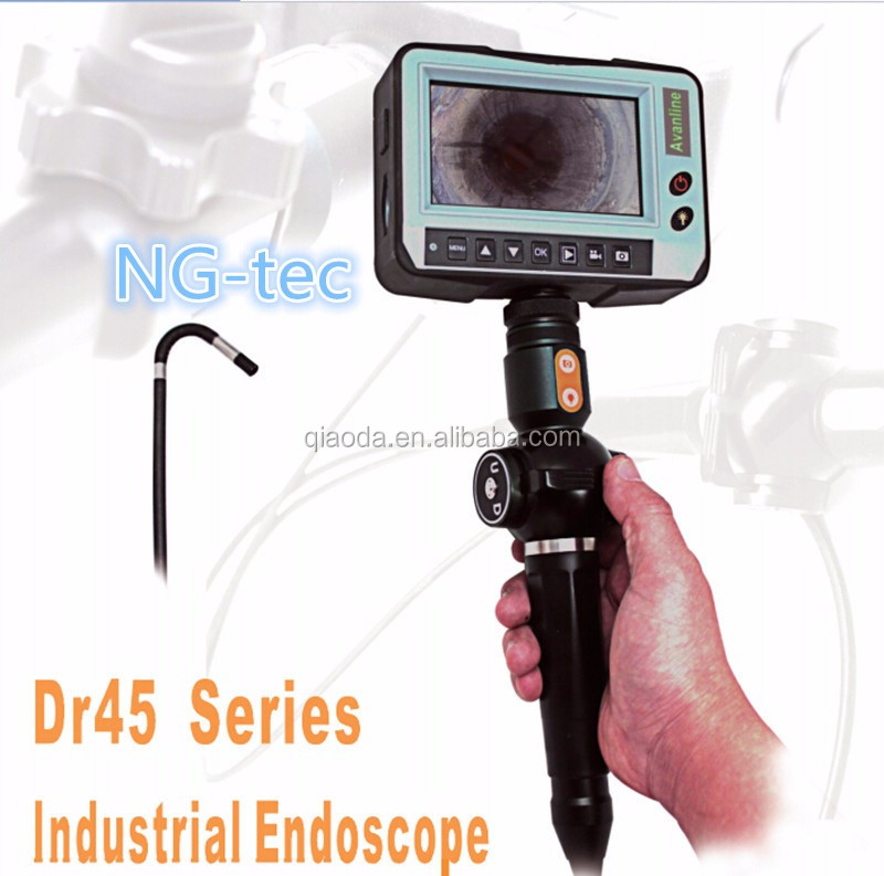 CE approved endoscope industrial borescope inspection camera with side view camera