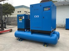 18.5KW 8bar combined screw air compressor with air dryer
