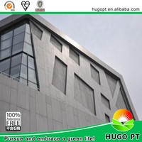 Exterior fiber cement through colored cladding waterproof decorative wall board
