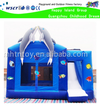 Underwater themed bounce house inflatable