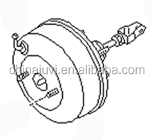 VACUUM BRAKE BOOSTER 813-01254 FOR KING CAB [D21] 09.1985-02.1998