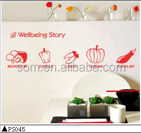 Removable vinyl home wall sticker