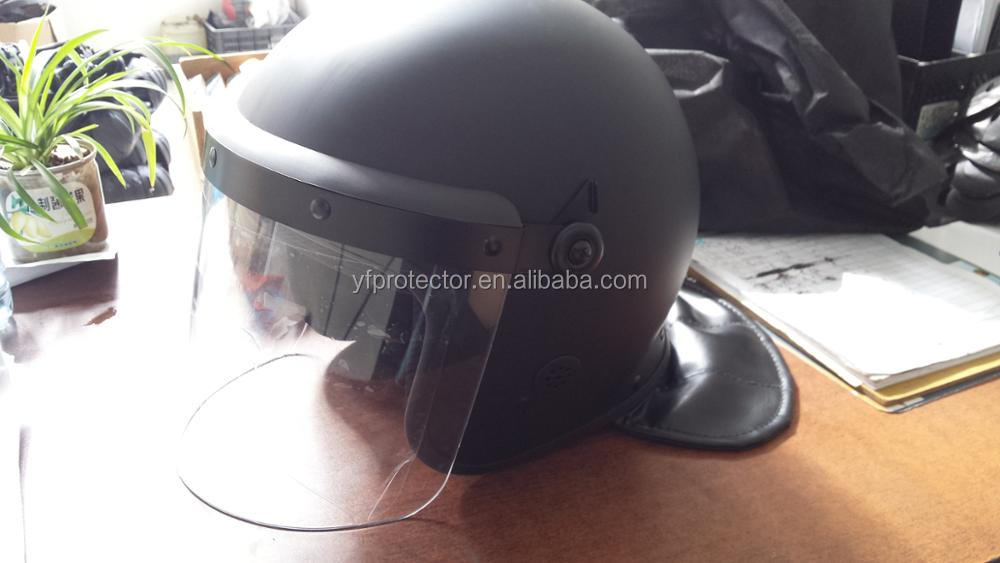 High protection cheap combat military police riot control helmet