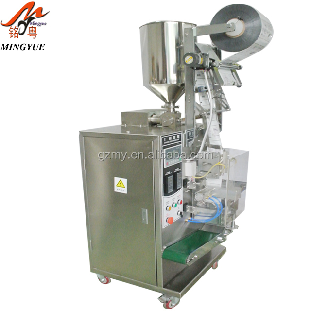 Four Side Seal Ice Pop Liquid Filling Sachets Packing Machine