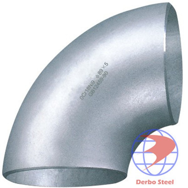 butt weld pipe fitting, asme b16.28 long radius pipe elbow dimensions