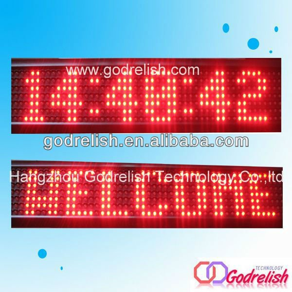 Professional bus led display board with great price