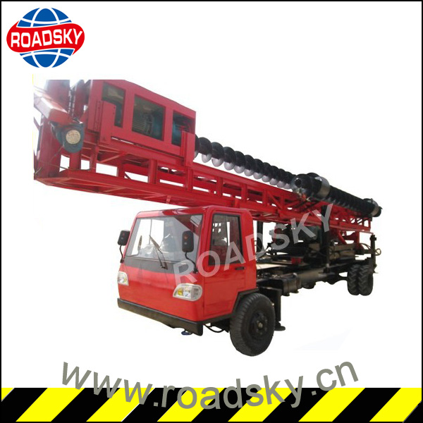 Pile Driving Machine, Truck Mounted Bored Pile Drilling Rigs