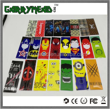 nba battery wraps 18650 battery skin battery 18650 LG battery 18650 Battery Case 21700/20700 battery wraps
