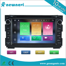 Capacitive multi-touch screen double din car dvd player auto android 6.0 car gps navigation for KIA CEED 2010-2012/VENGA