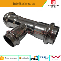 stainless steel pipe fittings drink water DN80