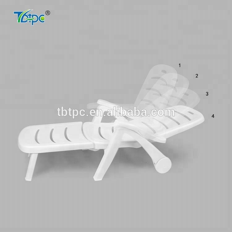 white outdoor swimming pool recliner leisure sun lounge plastic folding chair