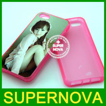 Sublimation silicone mobile phone cases for iPhone 5
