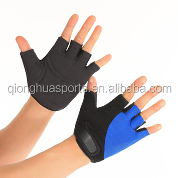 QS-0083 Professional Half Finger GYM Bicycle Fitness Gloves