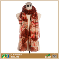 2016 New Design Fashionable Scarf voile shawl Scarf