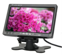 7-inch Stand Alone Car Monitor with IR Transmitter and 16:9 Display Mode