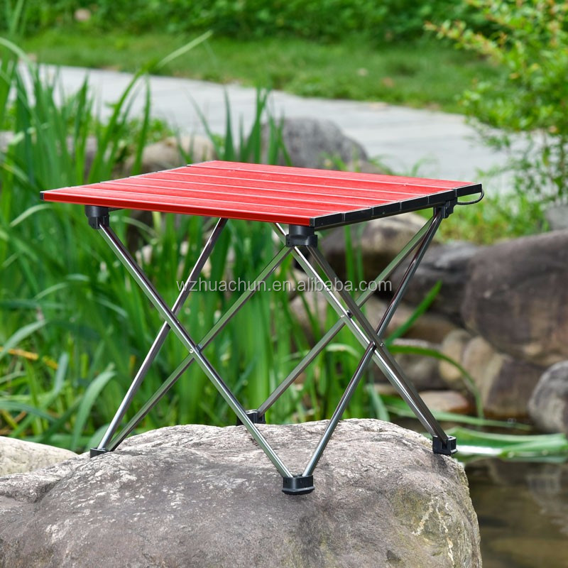 camping aluminum folding table