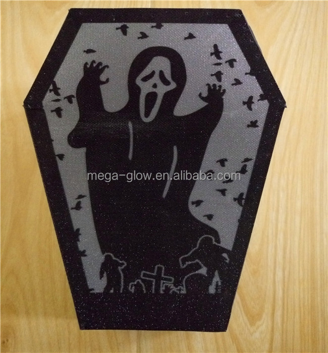 2016 Hot products wholesale commercial and mental headstone PVC Halloween decoration