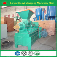2016 Best choice Low price coal and charcoal extruder machine price