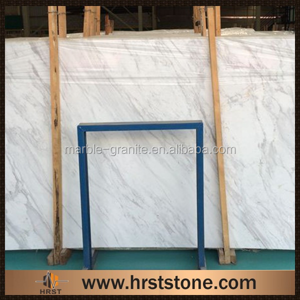 China natural white marble stone slab