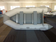 Alibaba trade assurance escrow plyeood floor inflatable boat PVC pipe boat ASD-320 with CE for sale!!!