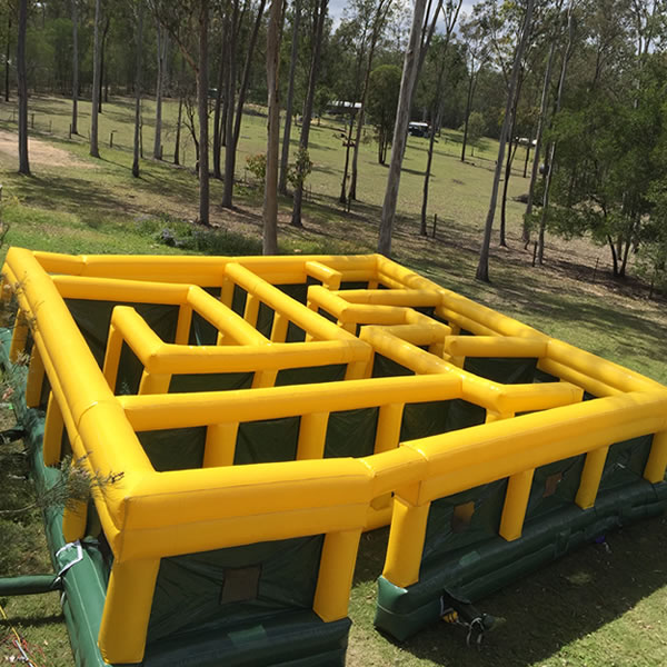 large inflatable obstacle maze carnival inflatable laser maze for sale