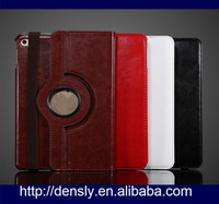 2016 new products 360 degree rotate leather wallet tablet case for ipad mini 4 case