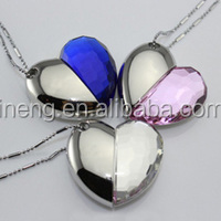 Top selling cheapest lovely USB flash disk driver heart shape.