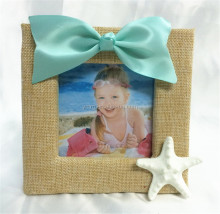 New Sea style photo frames with blue ribbons