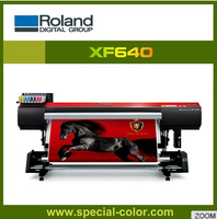 New roland 1.6m XF640 eco solvent printer with epson dx7 printhead