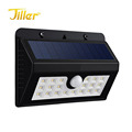 20LED 300lm outdoor wall mounted solar garden light