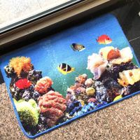 Water Absorb Dye Sublimation Polyethylene Mat