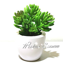 Wholesale Mini Potted Artificial Succulents plants
