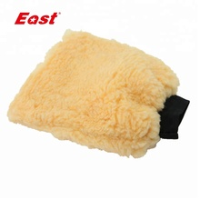 Cheap wholesale Mitt Chenille cleaning microfiber Car Washer Glove
