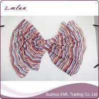 High quality womens summer woven polyester stole shawl scarf