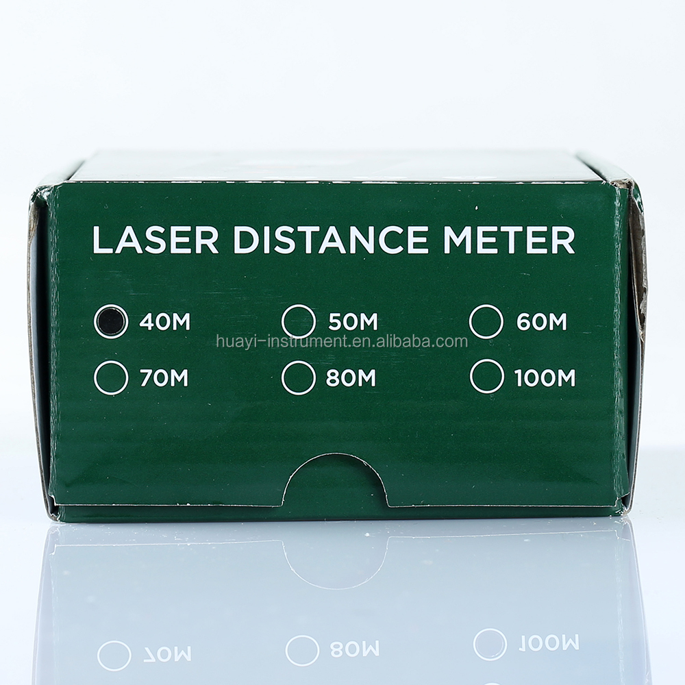 high quality 40M laser distance meter MS6440, handheld 40m indoor/outdoor laser distance measurer