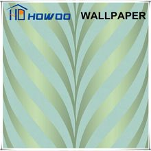 Latest design commercial vinyl wallpaper for shop wall decoration