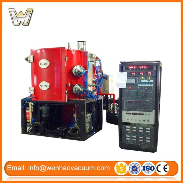 Second hand PVD vacuum Coating Machine for Jewelry with black, gold color
