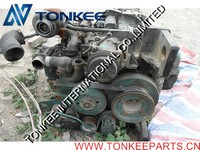 diesel engine spare part China supplier USED & ORIGINAL VOLVO EC210B DEUTZ D6D complete engine assy