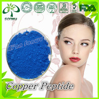 Supply copper peptide ghk-cu/copper peptide powder