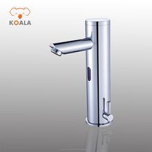 Induction Copper Touchless Infrared Sensor Electrical Automatic Sanitary Ware Bath Basin Faucet