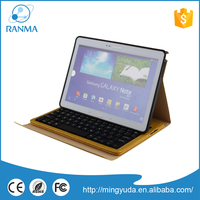 Durable and high quality flip cover pu leather tablet case for samsung