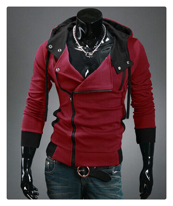 Walson New design wholesale hooded cardigan men cropped sweatshirts