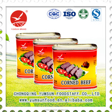 wholesale directly from chinese factory 340g canned corned beef ready to eat canned food