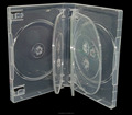 Hot sale cases for movie drama series clear 27mm thick 8 disc dvd case