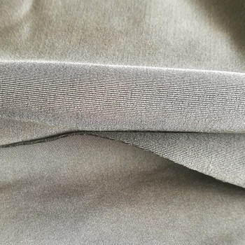 Thickened Silver Coated Electric Stretch Fabric For Electrode Pad For EMI Shielding