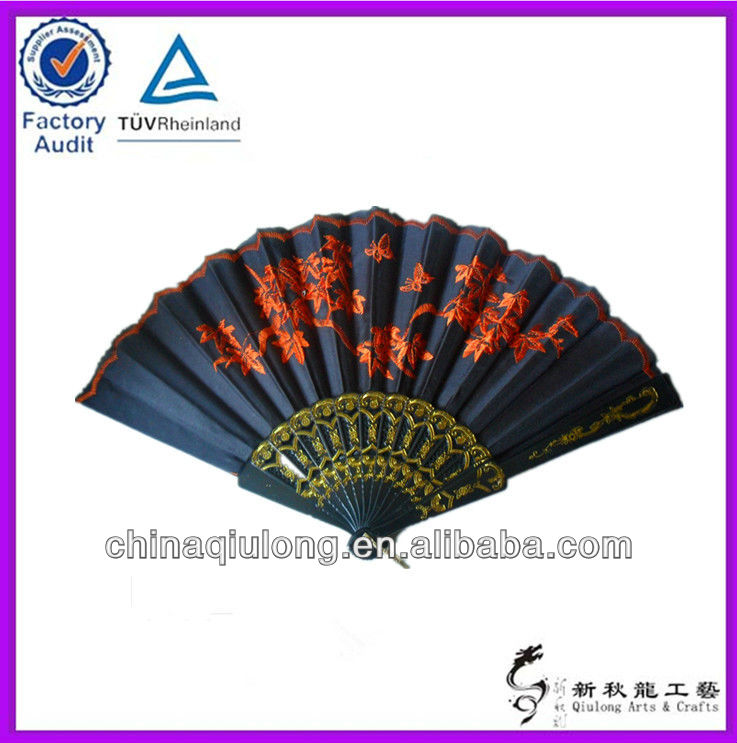 Fashion Plastic Lace/Farbic/Silk Hand Fan Wedding Favors