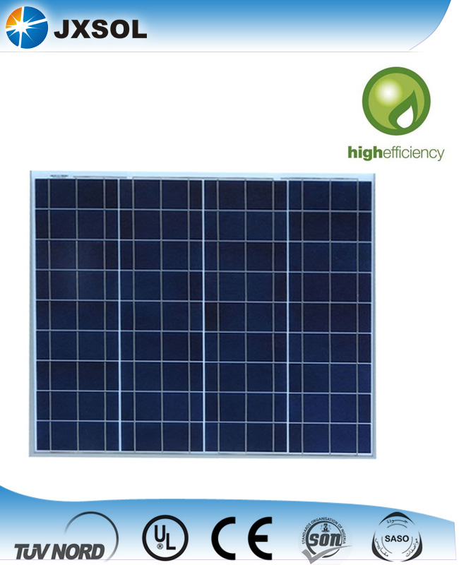Best quality double glass poly solar panel 70 watt for home used