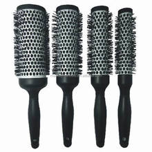 Nylon bristle hair brush hair brush boar and nylon bristles factory